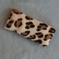 Hračka pro kočky - leopardí polštářek s kozlíkem lékařským
