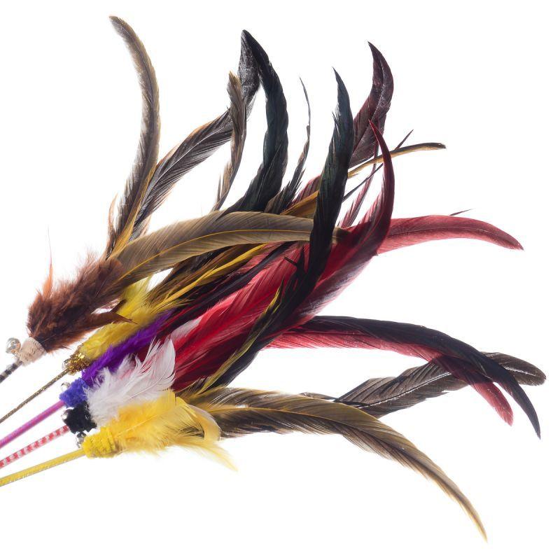 Kočičí hračka Big Rooster long Petfuntoy