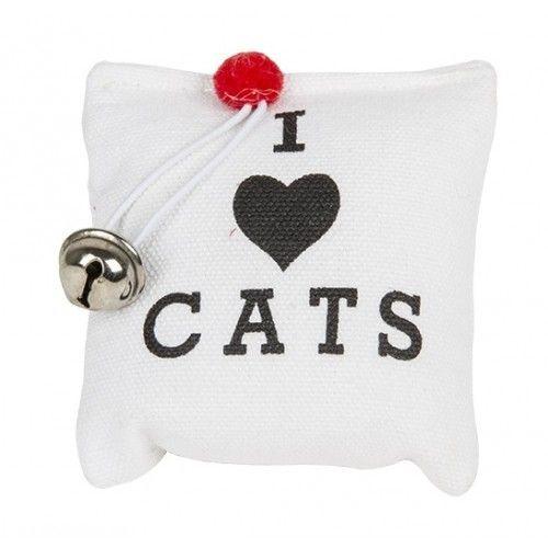 Hračka pro kočky se šantou kočičí