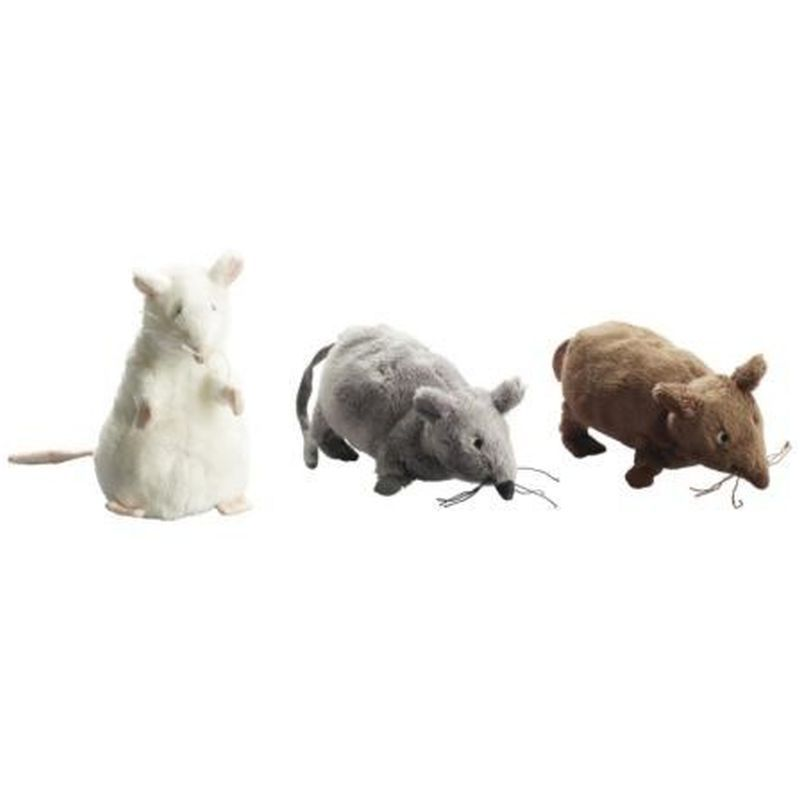 plyšová myš kozlík