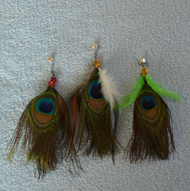 Vábnička pro kočky Peacock eye S Petfuntoy